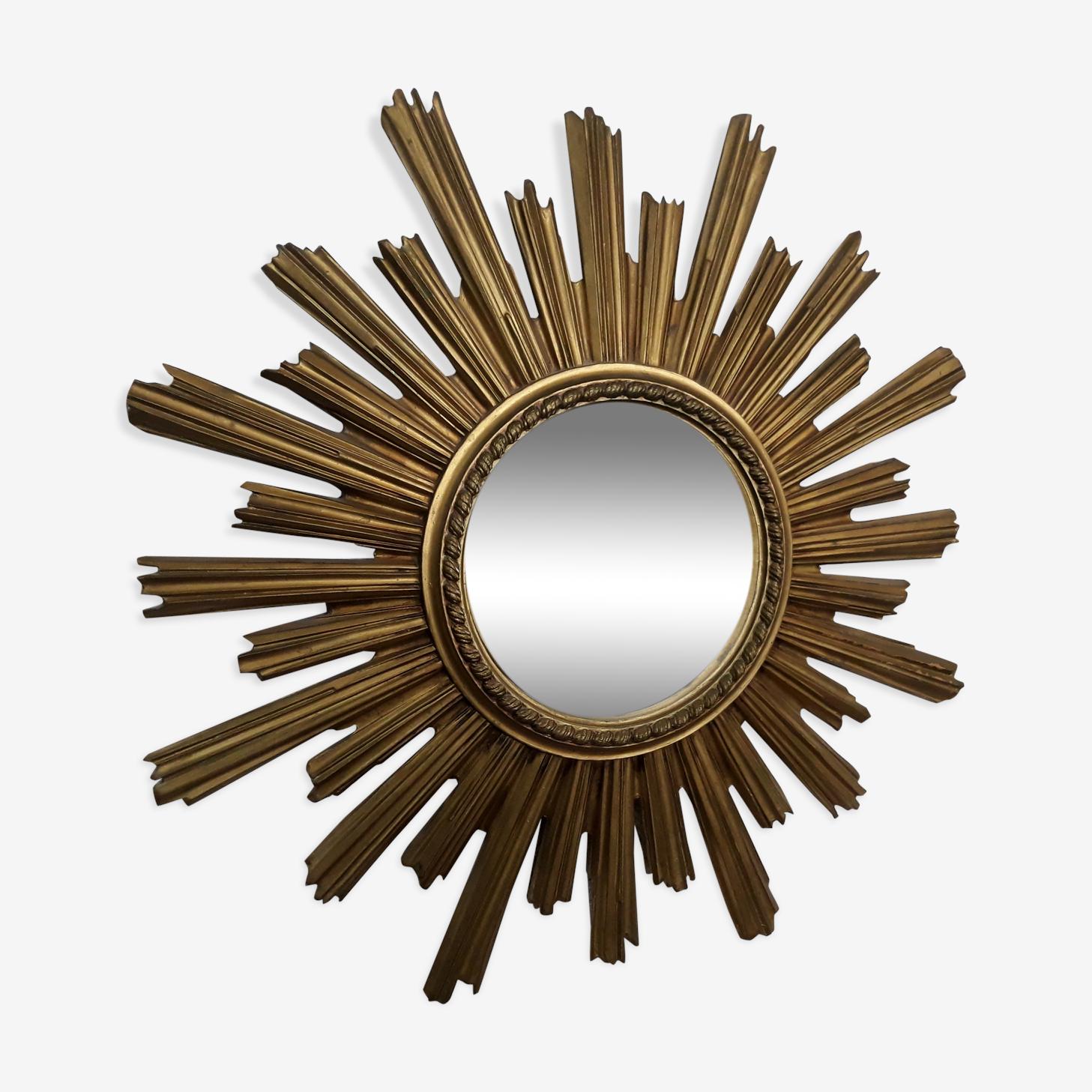 Miroir bombé soleil sorcière 60cm