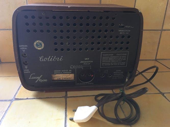 Poste de radio vintage