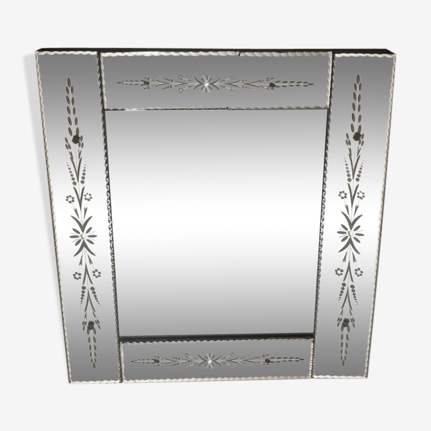 Miroir venitien 66x57 cm