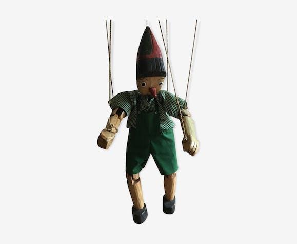 Marionnette Pinocchio en bois