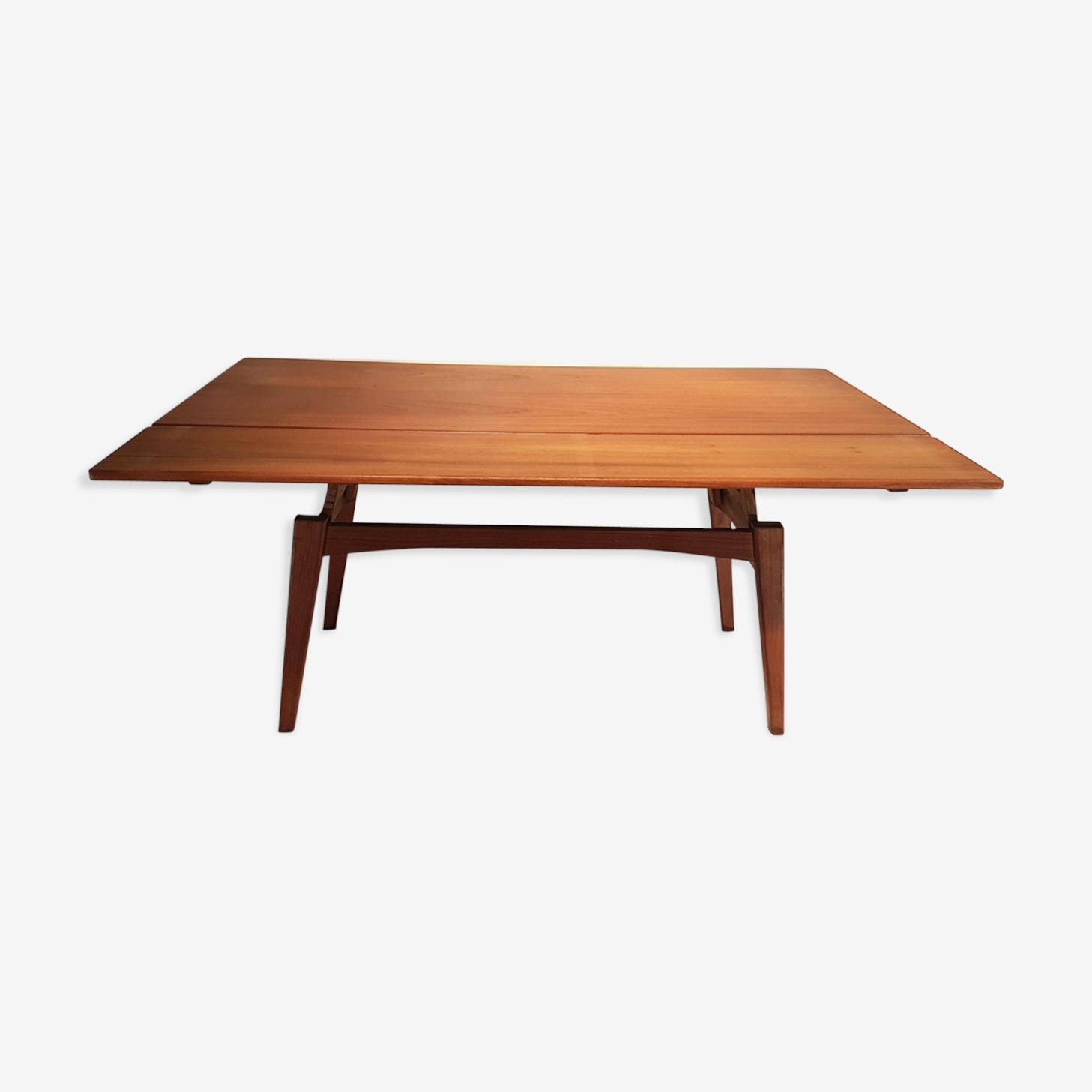 Table réglable en hauteur vintage par Kai Kristiansen