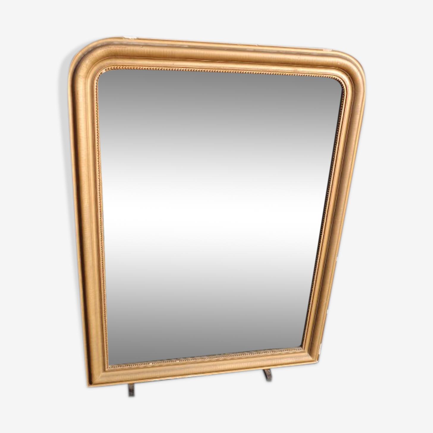 Miroir doré ancien 128x97cm