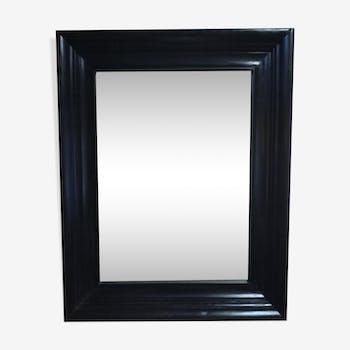 Miroirs classiques vintage d 39 occasion for Miroir bois noir