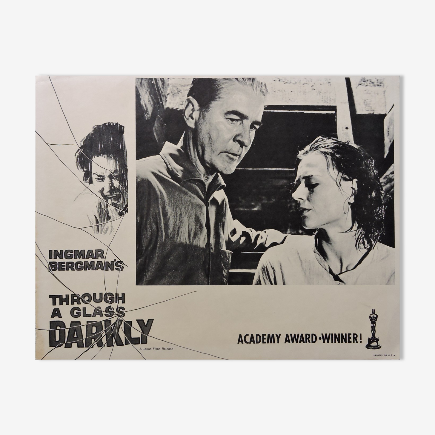 "Affiche ""Through a glass darkly"""
