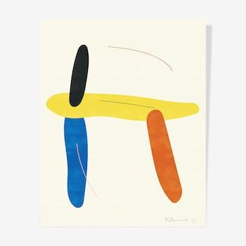 Funny Shapes II — 40 x 50 cm