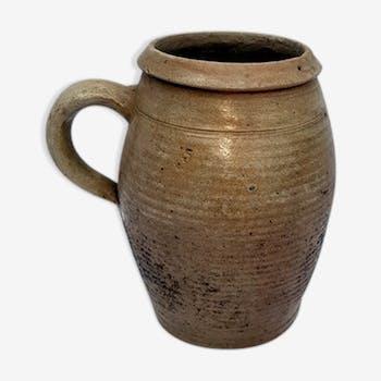 Ancien pot en terre cuite vernissée n°5