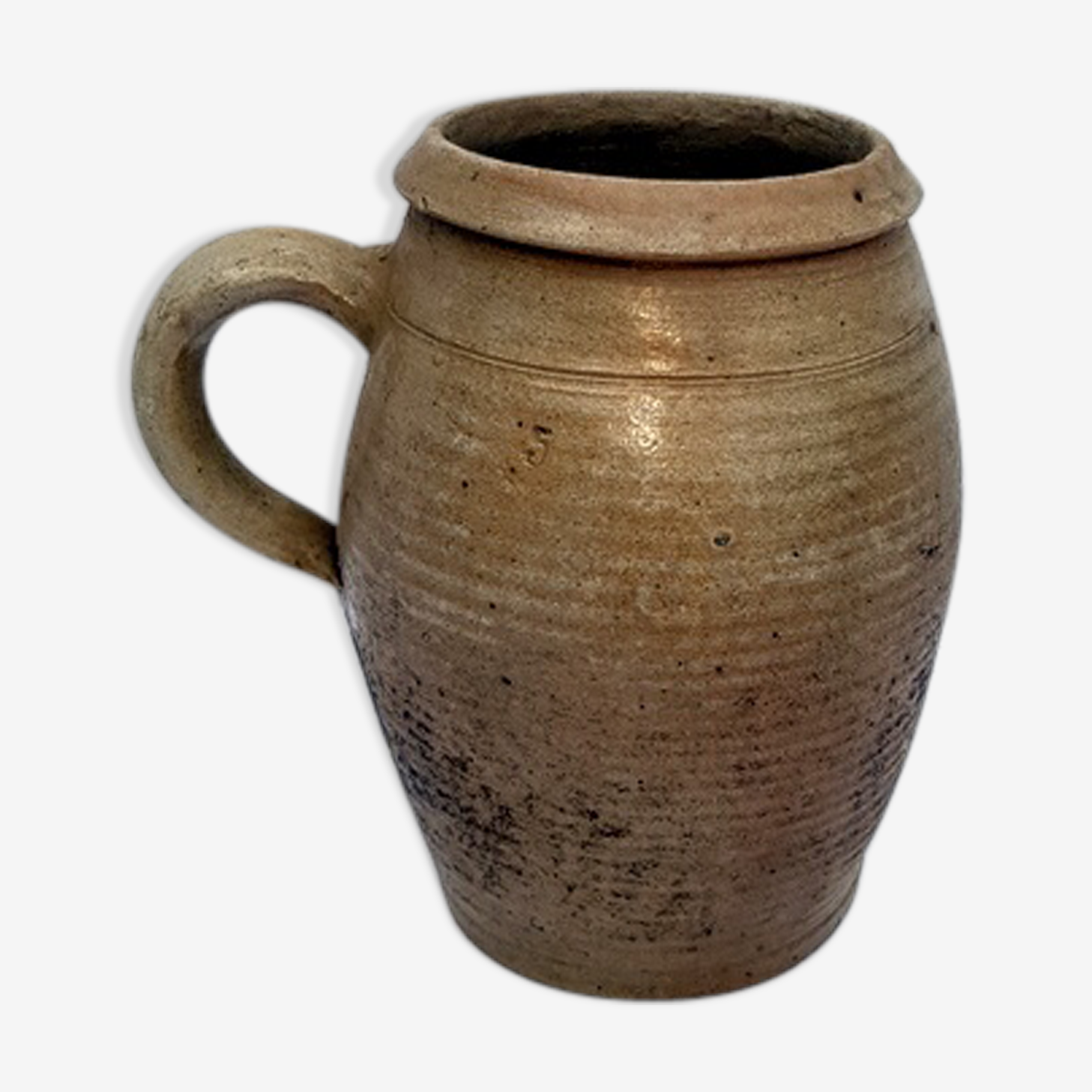 Old pot glazed terracotta n°5