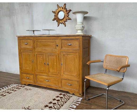 Meuble de metier comptoir meuble a tiroirs de boulanger debut xxieme