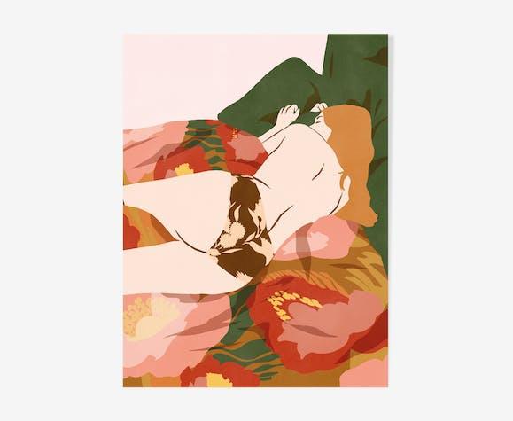 Illustration 30x40 Les Assoupis : Aurore
