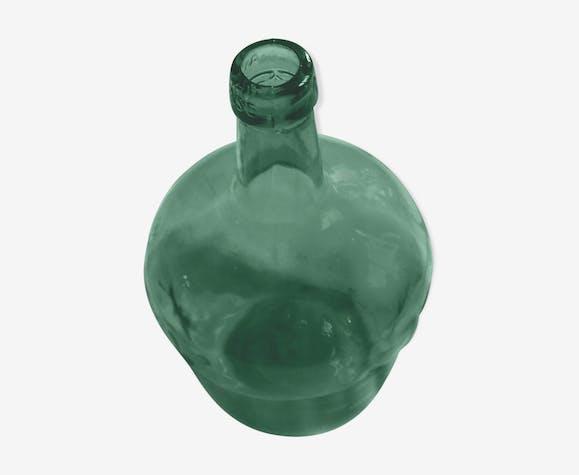 Dame-Jeanne petite bonbonne verre vert