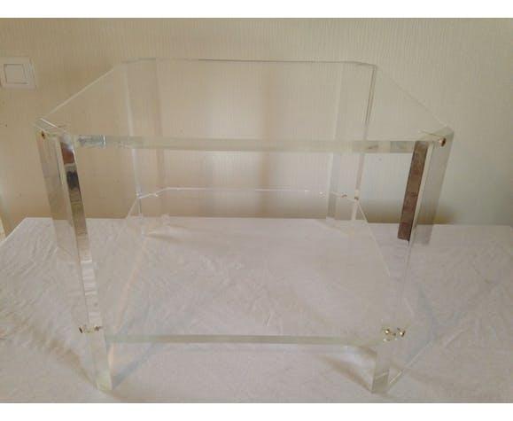 Table Basse Transparente Par David Lange Selency