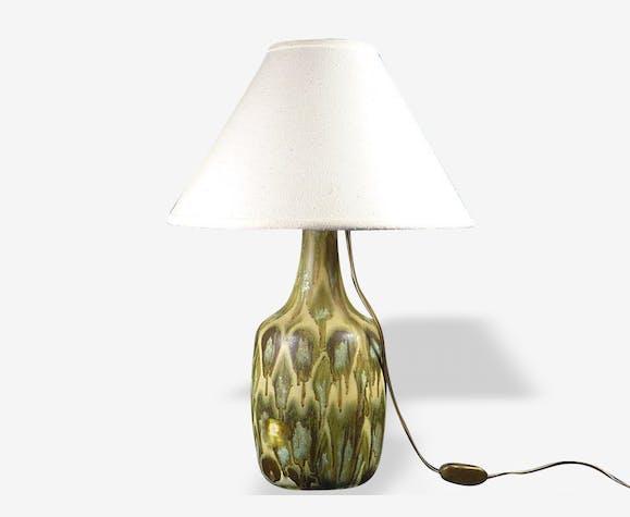 Pied de lampe en céramique des années 70