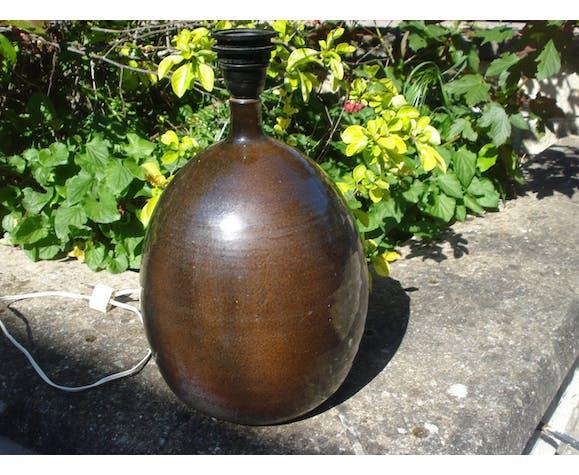 Lampe en céramique émaillée Les Cyclades Roland Zobel anduze