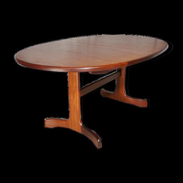 Table scandinave extensible en teck G Plan