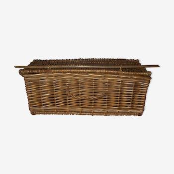 Vintage 60s wicker basket