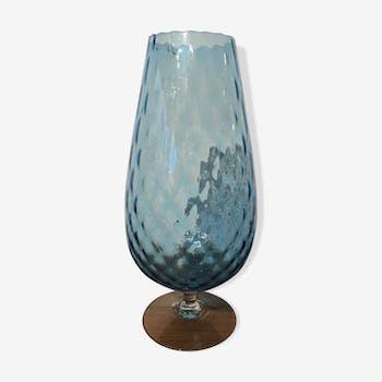 Vase bleu clair