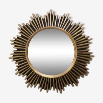 Golden sun mirror 32cm