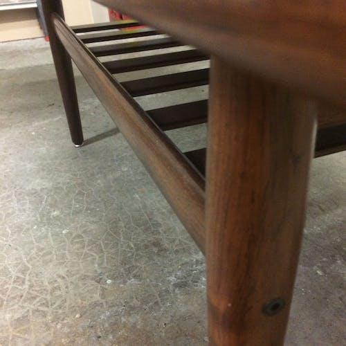 Table basse par Grete Jalk pour Glustrup Mobelfabrik