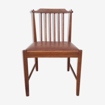 Bar Chair teak Scandinavian 1960