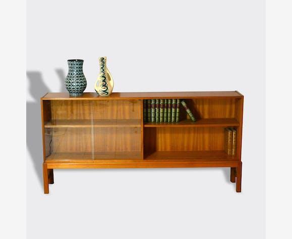 enfilade biblioth que scandinave bois mat riau. Black Bedroom Furniture Sets. Home Design Ideas