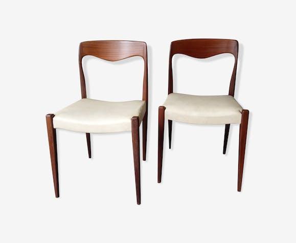 Lot de 2 chaises scandinaves