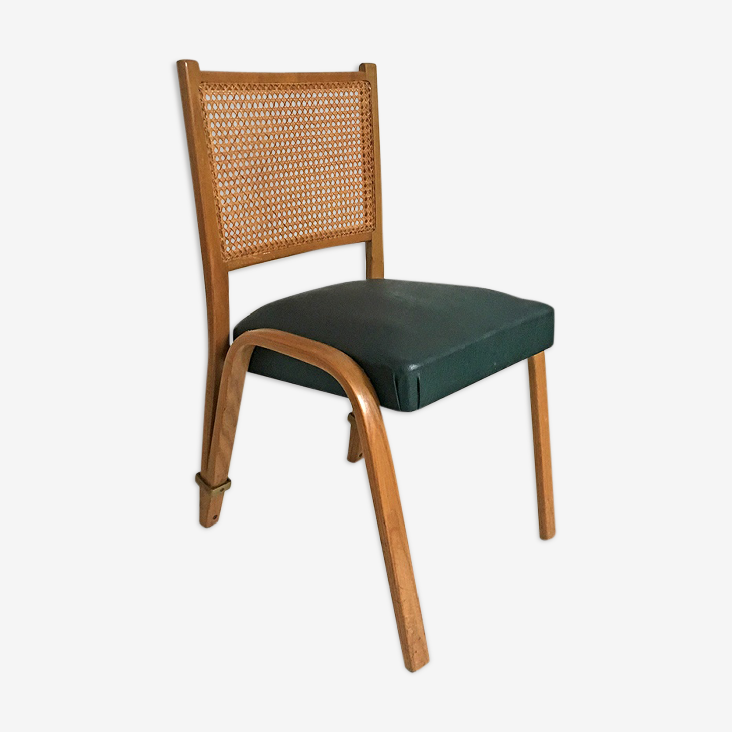 """""""Bow Wood"""" vintage chair, 1950's"""