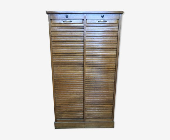 Cabinet with curtains of notary