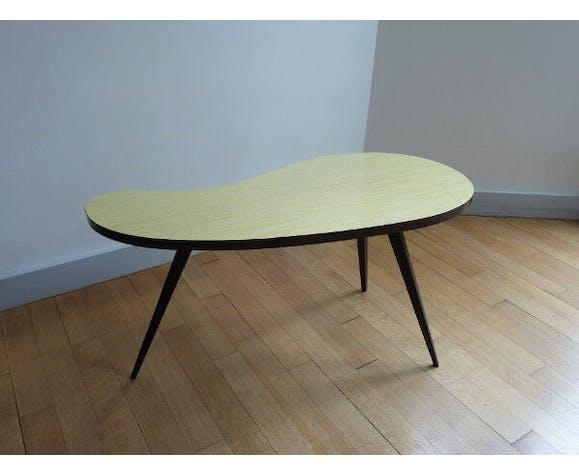 Table Basse Haricot En Formica Des Annees 50 60 Selency