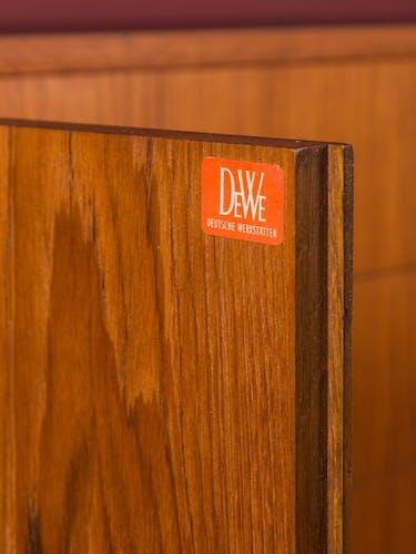 Enfilade par DeWe Deutsche Werkstàtten des années 1960
