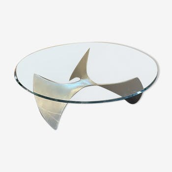 Helice coffee table by Knut Hesterberg for Ronald Scmitt 1960