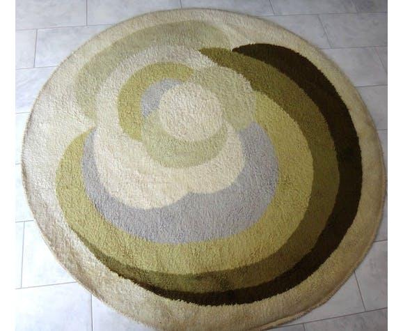 Tapis laine circulaire DESSO design 200cm