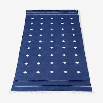 Tapis kilim pure coton 165 x 262cm