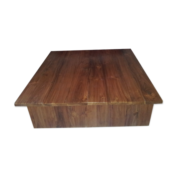 Table basse en teck massif