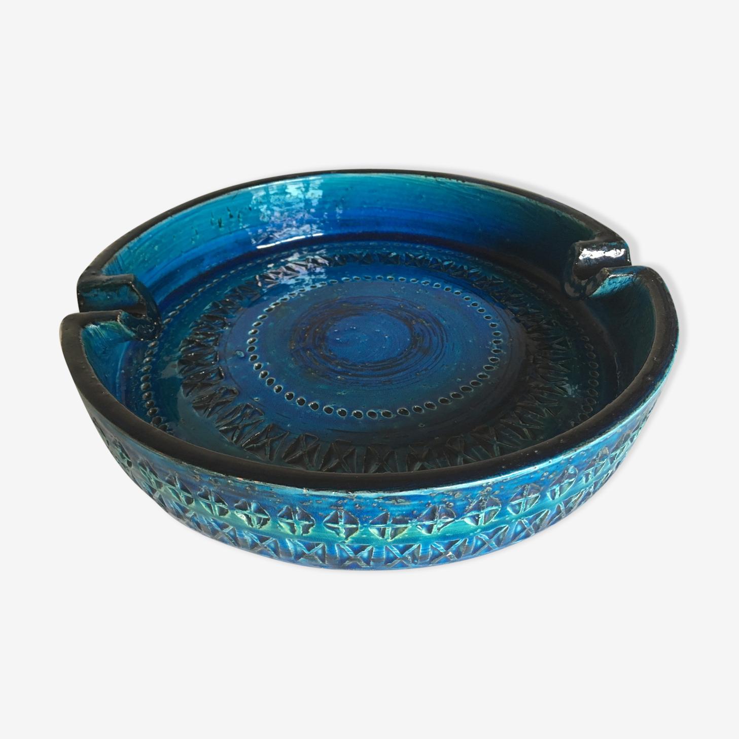 Céramique Bitossi Rimini Blu par Aldo Londi années 60