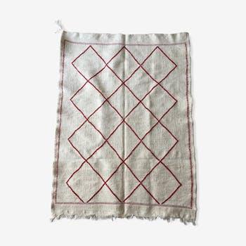 Tapis en laine berbere 135x100cm