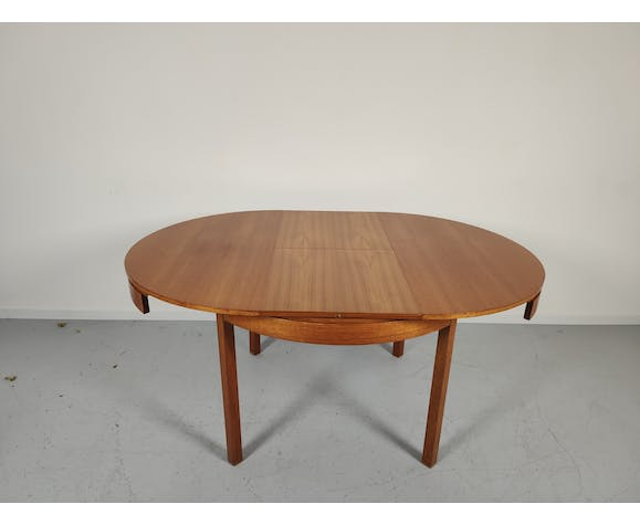 Table De Salle A Manger Scandinave En Teck 1960 1970 Selency