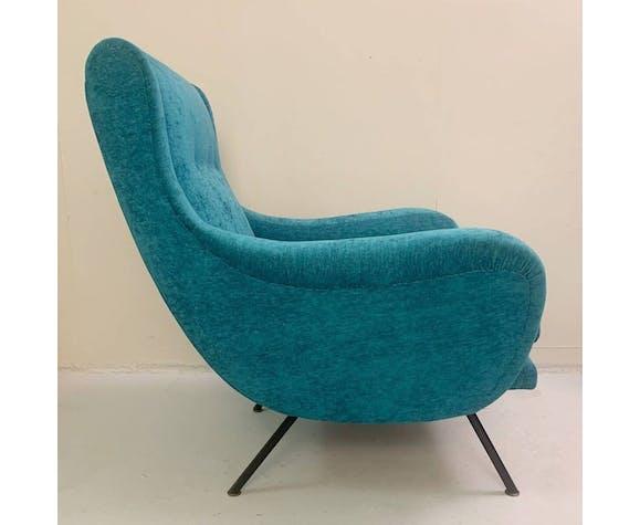 Paire de fauteuils italiens 1950