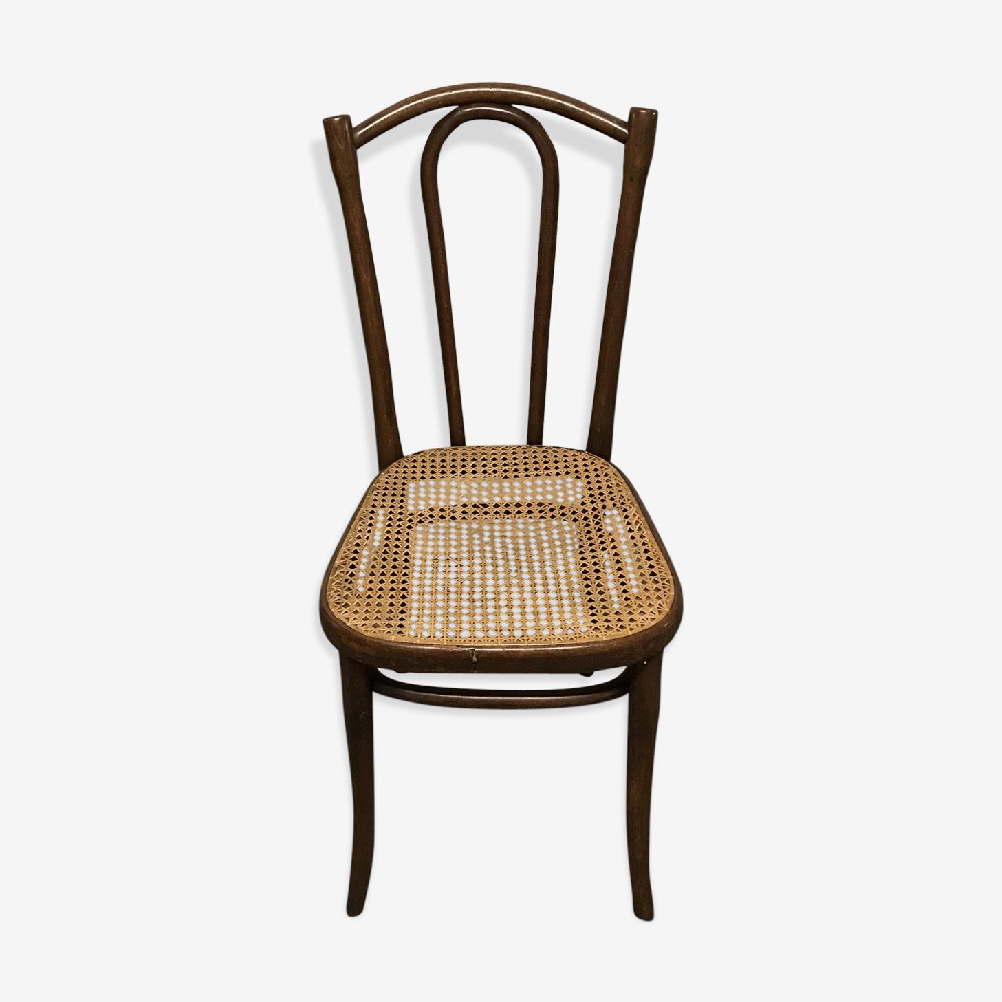 Chaise de bistrot cannée Thonet