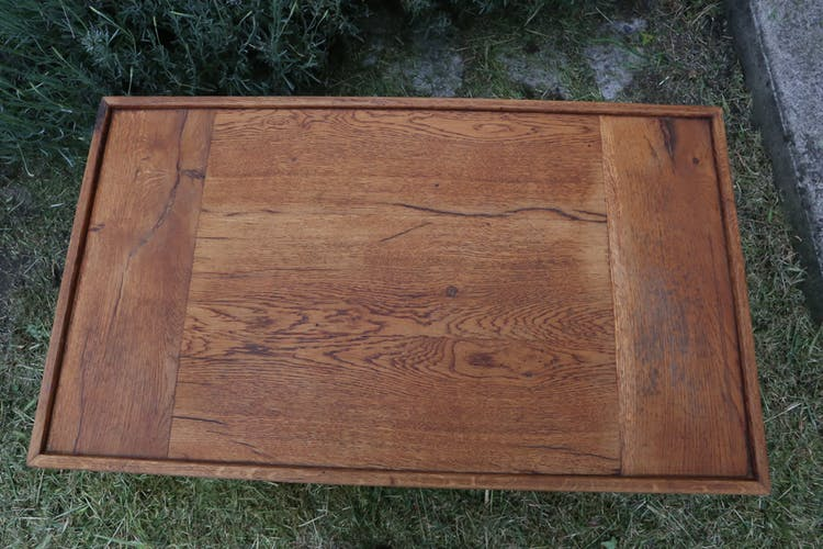 Table basse scandinave en bois massif