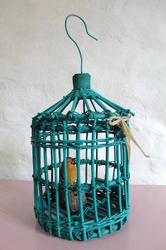 Cage en rotin