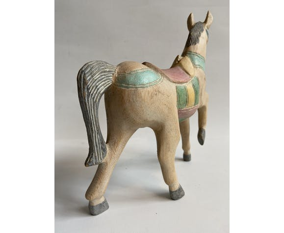 Cheval décoratif - jouet ancien