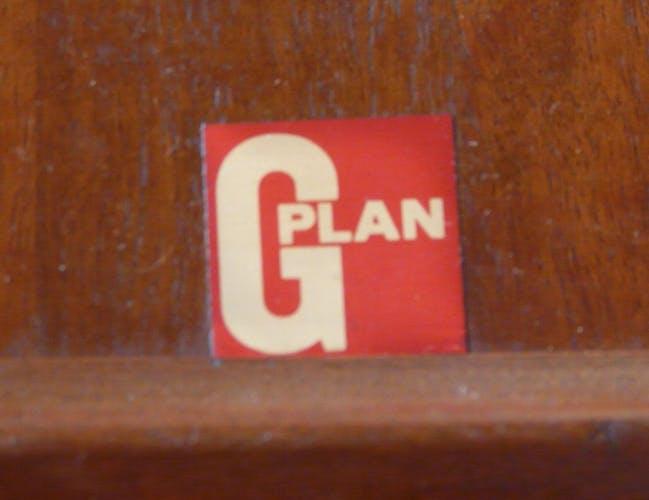 Table scandinave extensible en teck G-Plan