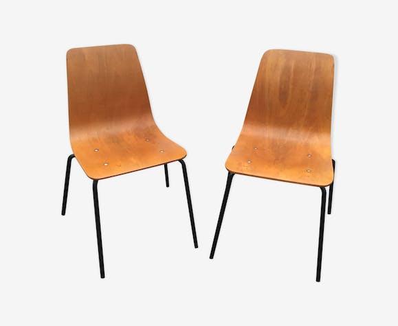 Paire de chaises Papyrus édition Steiner