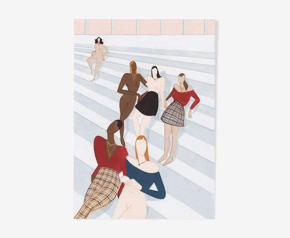 Illustration - jeunes filles