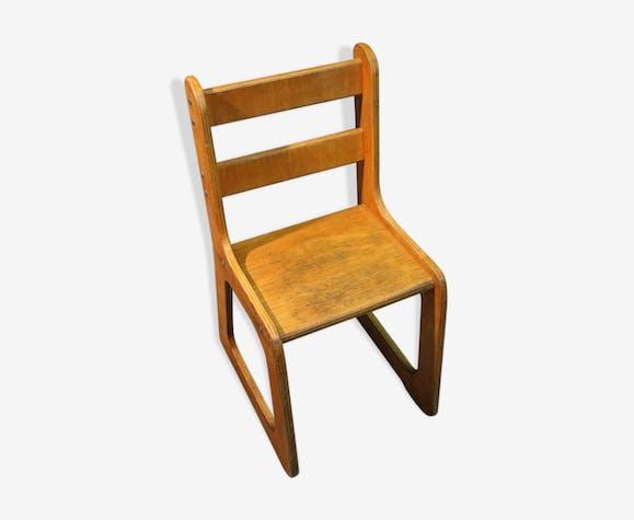 "Chaise ""traineau"" enfant 1960"
