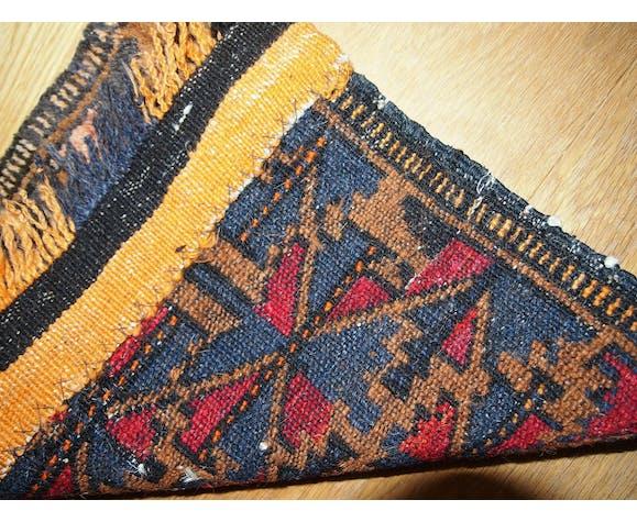 Former carpet bag made hand 35cm x 41cm sisage Uzbek 1930 s