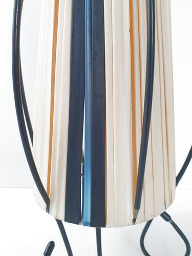 Vintage rockabilly table lamp