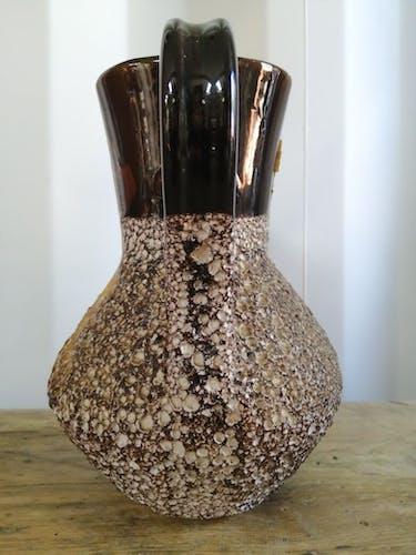 Pichet lave double pots vintage