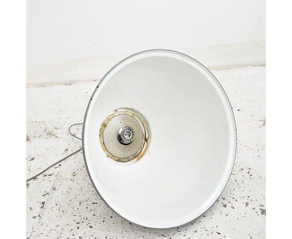 Suspension industrielle dôme gris Benjamin Light