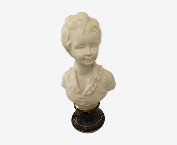 Buste biscuit Alexandre brongniard par tharaud limoge 41 cm